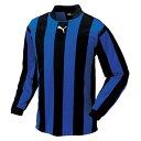 PUMA (プーマ) ストライプ ジュニアナガソデゲームシャツ 903298 01 1701 ジュニア キッズ 子供 子ども サッカー ゲームシャツ 長袖
