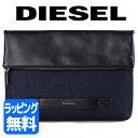 ディーゼル バッグ クラッチバッグ デニム レザー CLUTCH JP【DIESEL メンズ ブランド