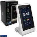 東亜産業 コンパクト CO2マネージャー 酸素濃度測定器 TOA-CO2MG-001 二酸化炭素濃度測定器 温度測定 湿度測定 アラート付き CO2モニター TOAMIT