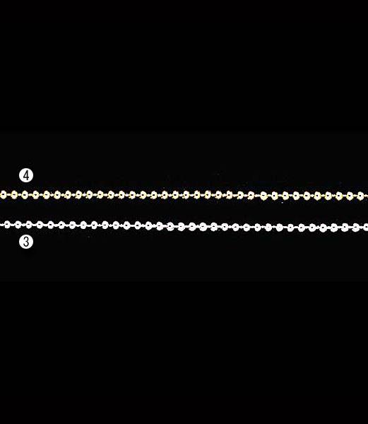 ★クリスマスツリー飾り チェーン 4mm径ビーズガーランド(10m)  [TGMI6023]