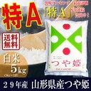 29年産 山形県産 つや姫 白米 5kg(5kg×1袋) 特...