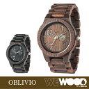 【正規品】 WEWOOD ウィーウッド ウッドウォッチ 木製 腕時計 OBLIVIO 【全2色】【メンズ・ユニセックス・男女兼用】