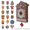 【最大500円OFFクーポン配布中!2/20 09:59まで】【正規品】 モダンムース (modern moose) 3D ウォールクロック PCPEN 【全15色】 壁掛け時計 振り子時計