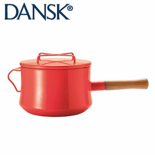 DANSK ダンスク コベンスタイル 片手鍋 18cm 深型 チリレッド