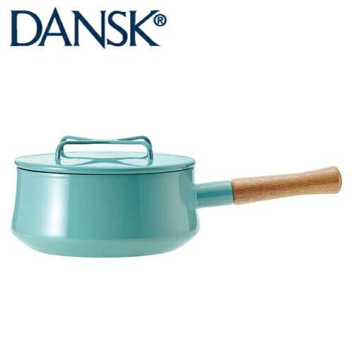 DANSK ダンスク コベンスタイル ホーロー鍋 片手鍋18cm 2QT ティール 833298