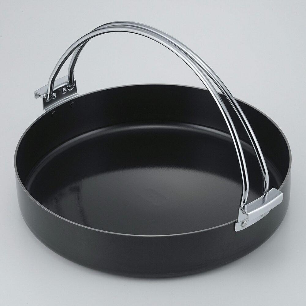 すき焼き鍋 鉄製 特厚 20cm 日本製 38296(下村企販)
