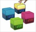キュービックライトアラームクロック インテリア 置き時計