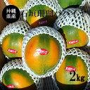 【送料無料】沖縄産石垣珊瑚パパイヤ2Kg (3玉〜5玉)マンゴーの様に甘い沖縄果実
