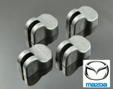 【ネコポス限定】MAZDA マツダ専用 ドアーヒンジストッパー保護カバー x4コ W082