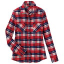 ネルチェックシャツ リュリュ ファッション レディース アウトレット