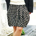 ふんわりバルーンスカート ryuryu/リュリュ 30代 40代 ファッション レディース 在庫処分