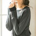 【クーポン配布中】●OUTLET●カットソー 秋冬 M LL L 3L綿100%指穴付!重ね着風カットソー ryuryu リュリュ 30代 ファッション レディース Viola e Viola ヴィオラエヴィオラ 白 ホワイト アウトレット 40代 在庫処分【SALE_0713】