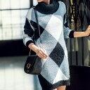 タートルネックシャギーニットワンピ【ROYAL PARTY muse】 ryuryu/リュリュ  30代 ファッション レディース アウトレット 【再販売】