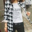 見た目も着心地もあったか、裏ボアシャツ裏ボアロングシャツ(S〜LL) ryuryu/リュリュ 30代 ファッション レディース