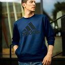<adidas>クルーネックスウェット ryuryu/リュリュ ラナン Ranan 30代 40代 メンズ ファッションブランド スポーツ ウェア 運動 スポ..