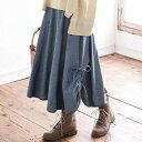 フレアースカート大きいサイズ レディース 秋 LL 3L