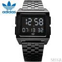 アディダス adidas ARCHIVE_M1 (41)Z01-001-00 Z01001-00 時計 腕時計 メンズ レディース ブラック メッシュ デジタル ギフト