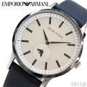 楽天腕時計&ブランドギフト SEIKA【当店ならお得クーポンあり!】エンポリオアルマーニ EMPORIOARMANI AR11119時計 腕時計 メンズガンメタル ネイビー レザー (k-15) 青い腕時計