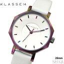 楽天腕時計&ブランドギフト SEIKA【当店ならお得クーポンあり!】クラス14 KLASSE14 オクト ヴォラーレ時計 腕時計 レディース レザー 28mmホワイト レインボー OK17TI002S(70) 白い腕時計
