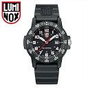 ルミノックス LUMINOX 0321(13)レザーバックシータートル ジャイアント時計 腕時計 メンズ ブラック ラバー42mm T25表記