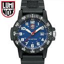 【今なら限定クーポンあり】ルミノックス LUMINOX 0323(17)レザーバックシータートル時計 腕時計 メンズ レディース ユニセックスブルー ブラック ラバー42mm T25表記【ID】