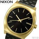 楽天腕時計&ブランドギフト SEIKA【当店ならお得クーポンあり!】NIXON ニクソン タイムテラー A045-1604時計 腕時計 メンズ レディース ユニセックス ブラック ゴールドA0451604-00