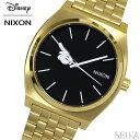 NIXON ニクソン タイムテラー A045-3097時計 腕時計 メンズ レディース ユニセックスゴールド ミッキーハンドデザイン【ディズニー×ニクソン】 A0453097-00