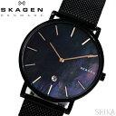 楽天腕時計&ブランドギフト SEIKA【当店ならお得クーポンあり!】スカーゲン SKAGEN SKW6472 ハーゲン時計 腕時計 メンズ ブラック メッシュ