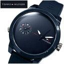 トミーヒルフィガー TOMMY HILFIGER 1791325 (120)時計 腕時計 メンズ ネイビー ラバー 青い腕時計