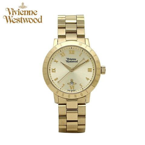 【期間限定 3年間保証】(ショップ袋プレゼント)ヴィヴィアンウエストウッドVivienne Westwood時計 腕時計 レディースゴールド VV152GDGD