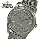 楽天腕時計&ブランドギフト SEIKA【当店ならお得クーポンあり!】(ショップ袋プレゼント)ヴィヴィアンウエストウッドVivienne Westwood VV185GYSL メンズ 時計 腕時計 グレー シルバー