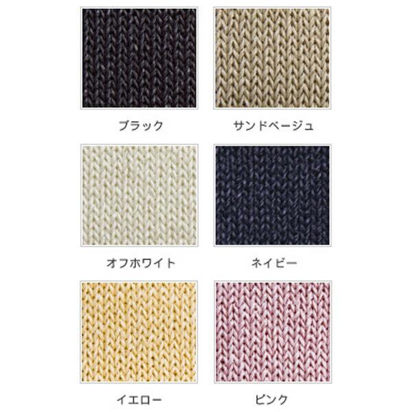 【ゆうパケット可】ささ和紙/SASAWASHI / レディス5本指靴下(22〜24cn)