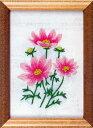 フランス刺繍キット No54コスモス(15cm×11cm)