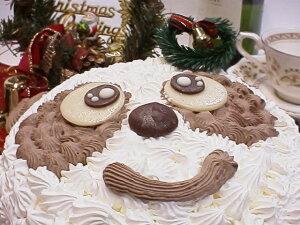 パンダのクリスマスケーキ