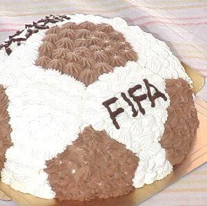 ケーキバースデーケーキ サッカー
