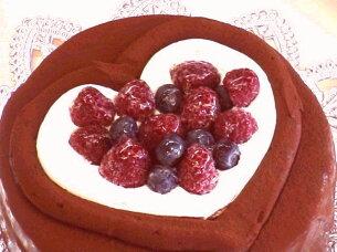 ケーキバースデーケーキ ファミリー バレンタイン