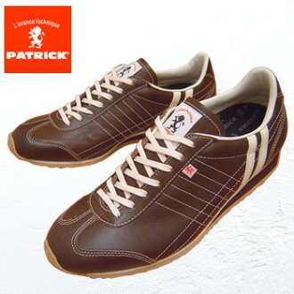 PATRICK Patrick sneakers Lady's PAMIR Pamirs chocolate ladies sneaker leather