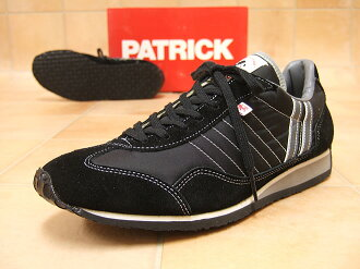 PATRICK Patrick sneakers Womens STADIUM Stadium BLK Black «order after 2 to 4 days after delivery within»