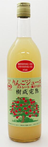 上北農産 樹成完熟りんごジュース 720ml