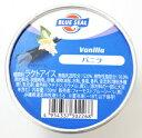 ショッピングアイスクリーム [冷凍] ブルーシール バニラアイス 90ml×16個(1ケース)