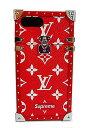≪新品≫ ルイヴィトン LOUIS VUITTON × supreme 2017年秋冬 アイ・トランク iphone7+ プラス M67758 携帯 ケース シュプリーム