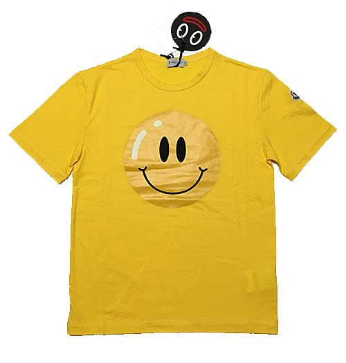 ... yellow moncler shirt ...