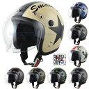 スモールジェットヘルメット スモールジョン(全8色) ヘルメット バイク...