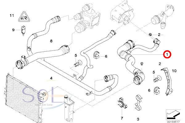 97 bmw 318i cooling system
