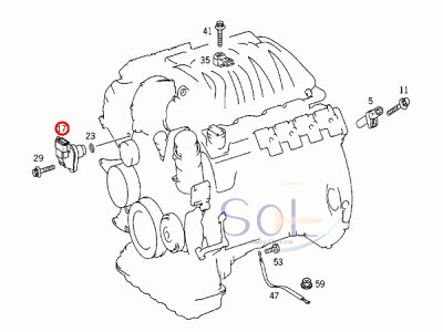Mercedes E430 Engine, Mercedes, Free Engine Image For User