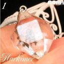 限定1点モノ AAAAハーキマーダイヤモンド(ニューヨーク産)  シルバ...