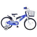 《補助輪付きで安心!人気者になれる楽しいKIDSバイク!》Mypallas子ども用自転車 16インチ MD-10-BL(ブルー)