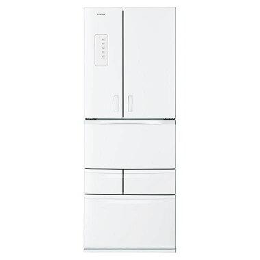 東芝510L・6ドア冷凍冷蔵庫GR-H51FX(WS)両開きタイプ