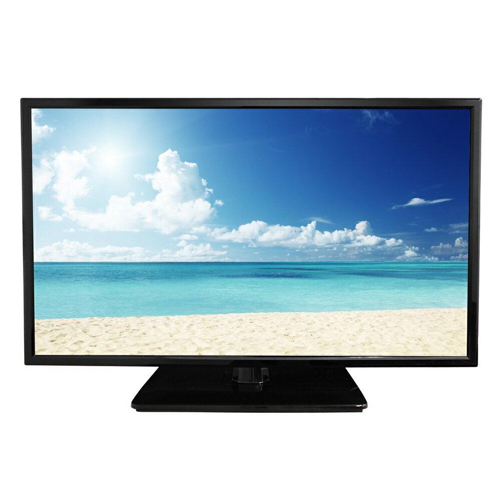 《コンパクトな24型でフルハイビジョンの高精細画像が楽しめる》エスキュービズム 24型LEDバックライト搭載地デジ専用液晶テレビ外付けHDD録画対応AT-24C01SRブラック