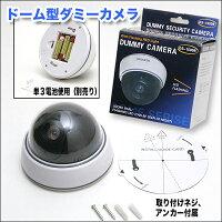 ドーム型ダミーカメラ